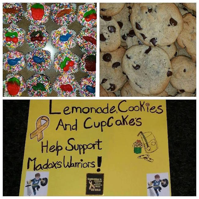 Lemonade, Cookies and Cupcake Sale