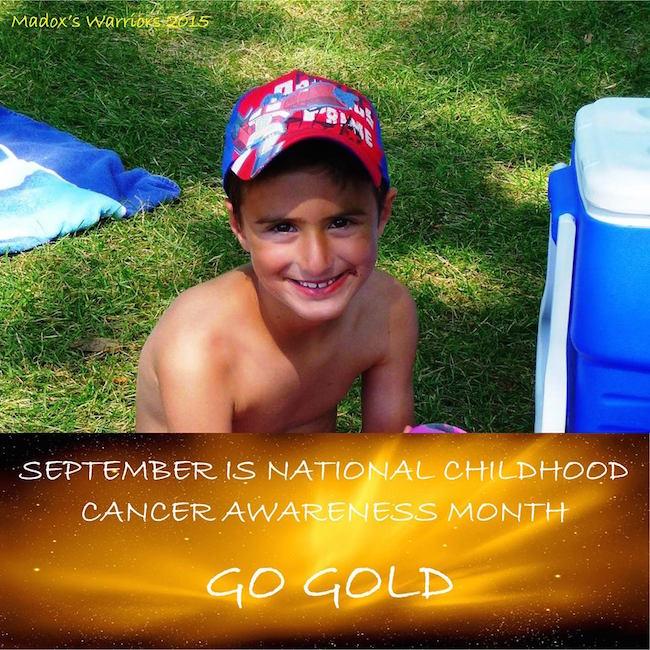 September is National Childhood Cancer Awareness Month