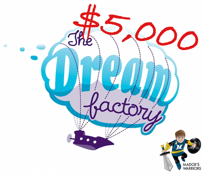 $5,000 donated to the Dream Factory!