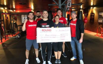 Kickboxing Fundraiser a HIT!