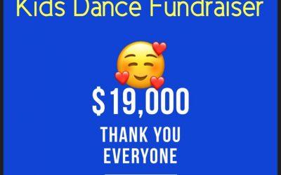 THANK YOU – 2019 Kids Dance Fundraiser