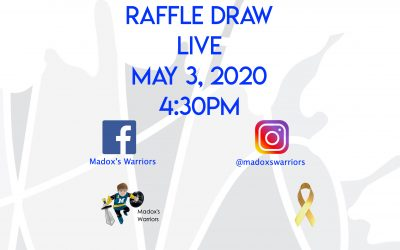 RAFFLE UPDATE AND LIVE DRAW INFORMATION